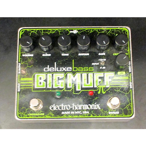 Electro-Harmonix Deluxe Bass Big Muff Distortion Bass Effect Pedal