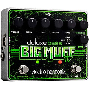 Electro-Harmonix Deluxe Bass Big Muff Pi Distortion Effects Pedal by Electro Harmonix
