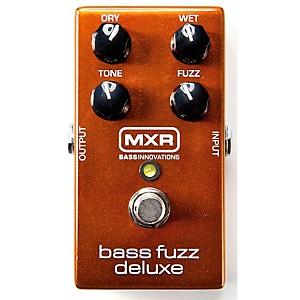 MXR Deluxe Bass Fuzz Effects Pedal by MXR