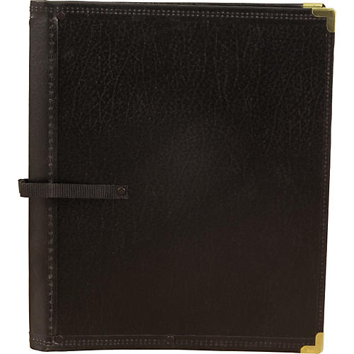 Deer River Deluxe Black Choral Folio with Hand Strap