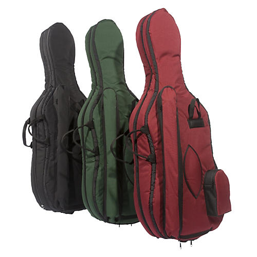 Mooradian Deluxe Cello Bag 1/8 Green