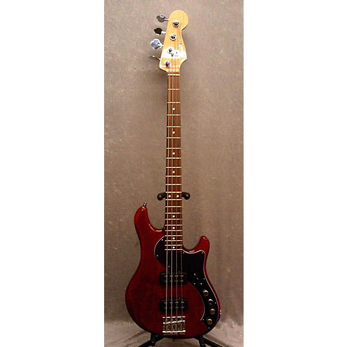 Fender Deluxe Dimension Bass IV Electric Bass Guitar Red