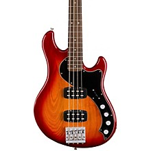 Deluxe Dimension Bass, Rosewood Fingerboard Aged Cherry Sunburst