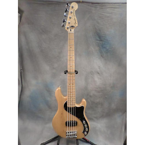 Fender Deluxe Dimension Bass V 5-String Electric Bass Guitar Natural