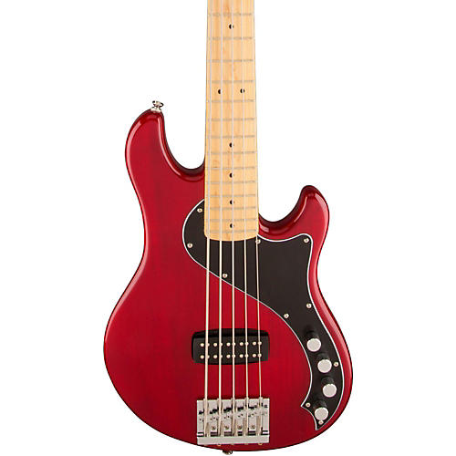 Squier Deluxe Dimension Bass V Maple Fingerboard Five-String Electric Bass Guitar-thumbnail