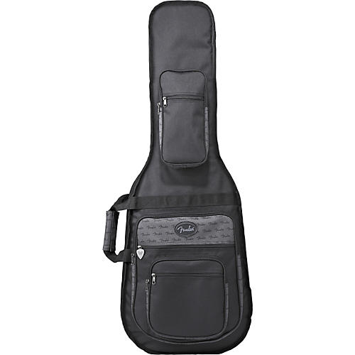Fender Deluxe Double Electric Guitar Gig Bag Black