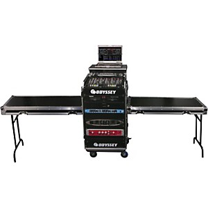 Odyssey Deluxe Dual Table Glide Style Combo Rack by Odyssey
