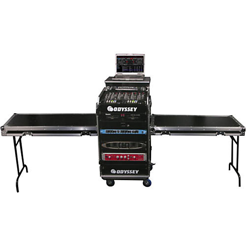 Odyssey Deluxe Dual Table Glide Style Combo Rack-thumbnail