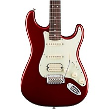 Deluxe HSS Rosewood Fingerboard Stratocaster Candy Apple Red