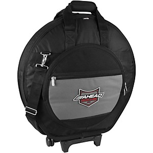 Ahead Armor Cases Deluxe Heavy Duty Cymbal Case with Wheels by Ahead Armor Cases
