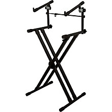 On-Stage Stands Deluxe Heavy Duty X 2-Tier Keyboard Stand