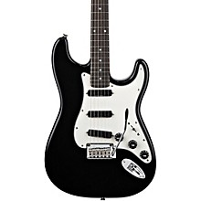 Deluxe Hot Rails Strat Electric Guitar Black