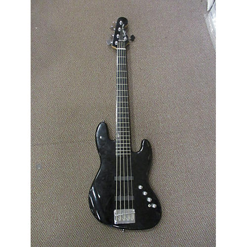 Squier Deluxe Jazz Bass Active V 5 String Electric Bass Guitar-thumbnail