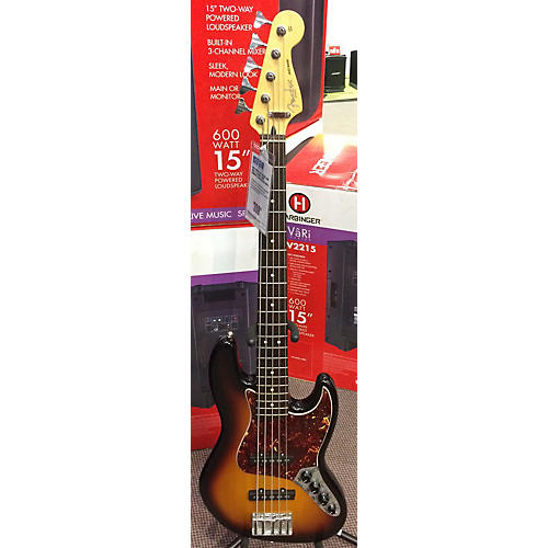 Fender Deluxe Jazz Bass V 5 String Electric Bass Guitar