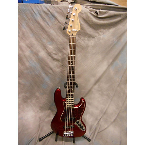 Fender Deluxe Jazz Bass V 5 String Electric Bass Guitar-thumbnail