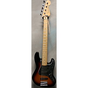 Pre-owned Fender Deluxe Jazz Bass V 5 String Electric Bass Guitar