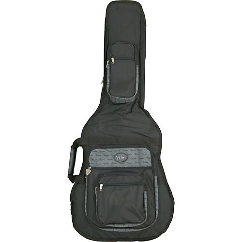 Fender Deluxe Jumbo Acoustic Guitar Gig Bag-thumbnail
