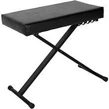 Musician's Gear Deluxe Keyboard Bench Level 1