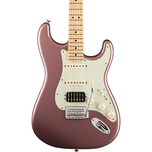 fender deluxe lone star stratocaster electric guitar burgundy metallic maple fretboard guitar. Black Bedroom Furniture Sets. Home Design Ideas