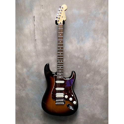 Fender Deluxe Lone Star Stratocaster Solid Body Electric Guitar-thumbnail