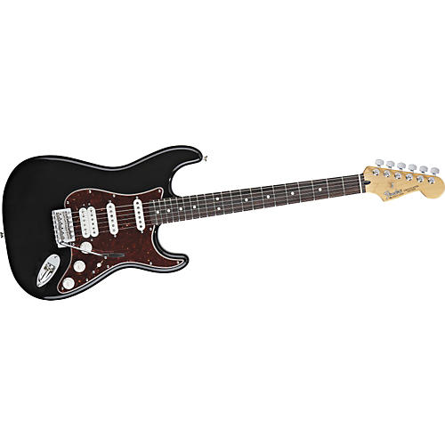 Fender Deluxe Lonestar Stratocaster Electric Guitar Black