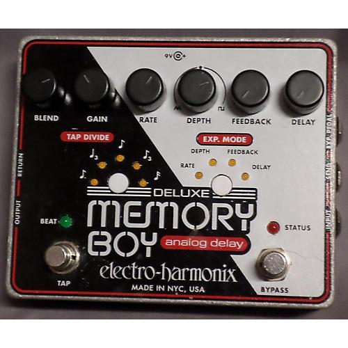 Electro-Harmonix Deluxe Memory Boy Delay Silver Effect Pedal