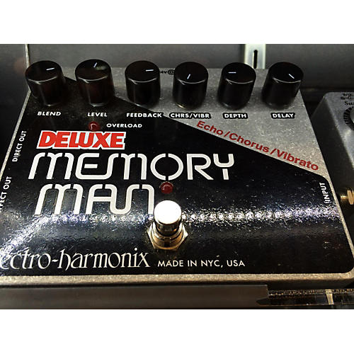 used electro harmonix deluxe memory man effect pedal guitar center. Black Bedroom Furniture Sets. Home Design Ideas
