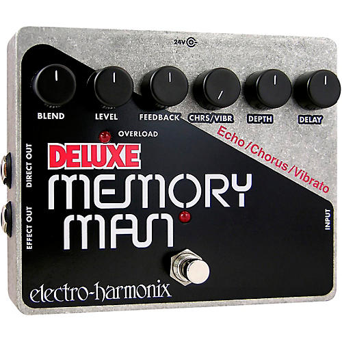 Electro-Harmonix Deluxe Memory Man XO Analog Delay Guitar Effects Pedal-thumbnail