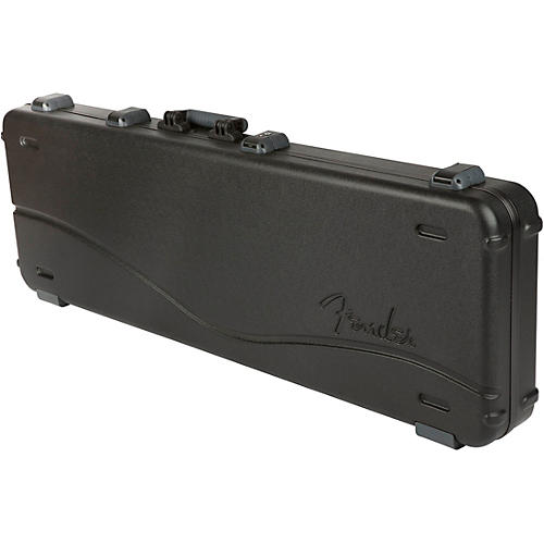 Fender Deluxe Molded ABS Left-Handed P/J Bass Guitar Case-thumbnail