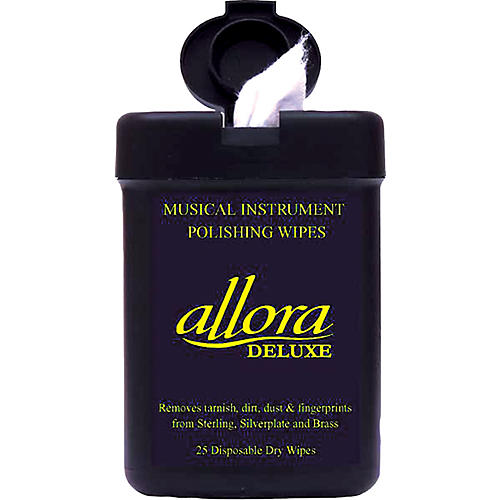 Allora Deluxe Musical Instrument Polishing Wipes