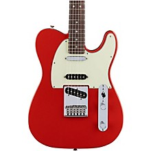 Deluxe Nashville Rosewood Fingerboard Telecaster Faded Fiesta Red