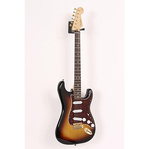 Fender Deluxe Players Stratocaster Electric Guitar 3-Color Sunburst 886830911309