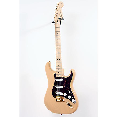 Fender Deluxe Players Stratocaster Electric Guitar Honey Blonde 888365016733