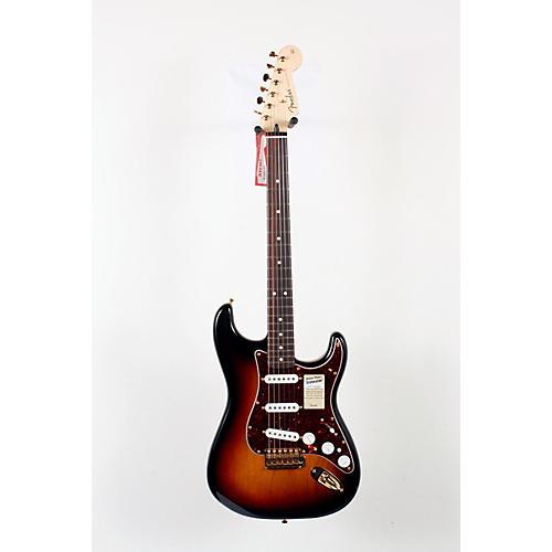 Fender Deluxe Players Stratocaster Electric Guitar 3-Color Sunburst 888365127590