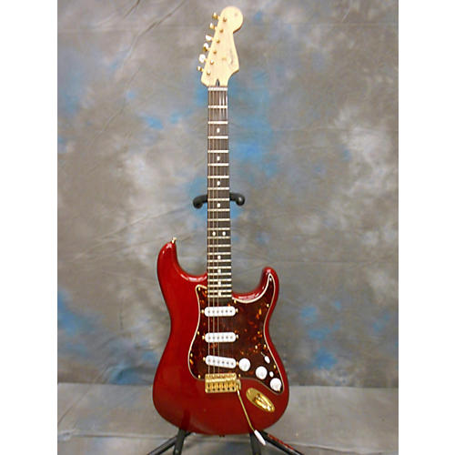 Fender Deluxe Player's Stratocaster Solid Body Electric Guitar-thumbnail
