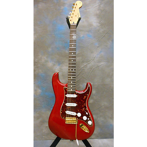 Fender Deluxe Players Stratocaster Solid Body Electric Guitar-thumbnail