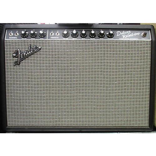 Fender Deluxe Reverb 22W 1x12 Tube Guitar Combo Amp-thumbnail