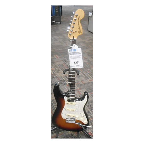 Fender Deluxe Roadhouse Stratocaster Solid Body Electric Guitar-thumbnail