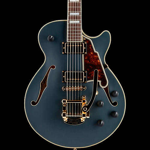 D'Angelico Deluxe Series Bob Weir SS Limited Edition Signed Semi-Hollowbody Guitar with Custom Seymour Duncan Pickups and Bigsby B-50
