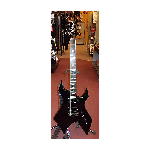 B.C. Rich Deluxe Series Warlock Solid Body Electric Guitar