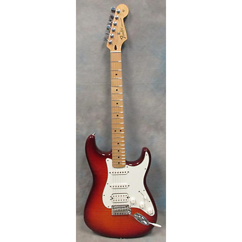 Fender Deluxe Stratocaster HSS Plus Top With IOS Connectivity Solid Body Electric Guitar