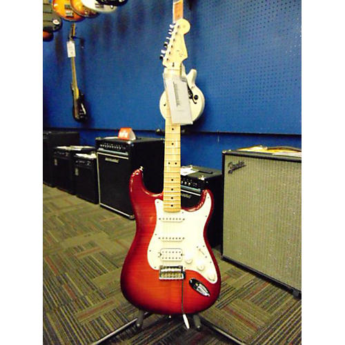 Fender Deluxe Stratocaster HSS Solid Body Electric Guitar-thumbnail