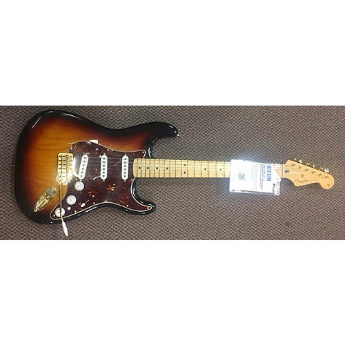 Fender Deluxe Stratocaster Solid Body Electric Guitar-thumbnail
