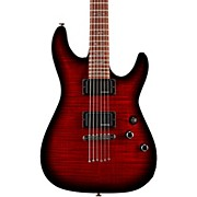 Demon-6 Electric Guitar Crimson Red Burst