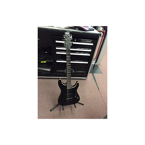Schecter Guitar Research Demon 6 Solid Body Electric Guitar Matte Black