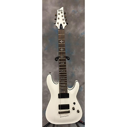 Schecter Guitar Research Demon 7 String Solid Body Electric Guitar-thumbnail