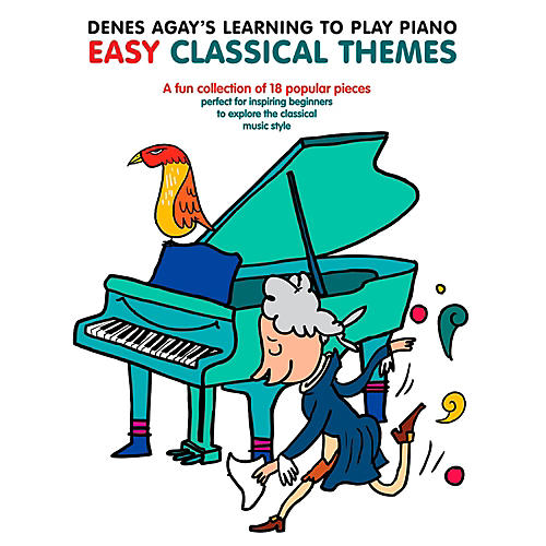 Music Sales Denes Agay's Learning To Play Piano - Easy Classical Themes