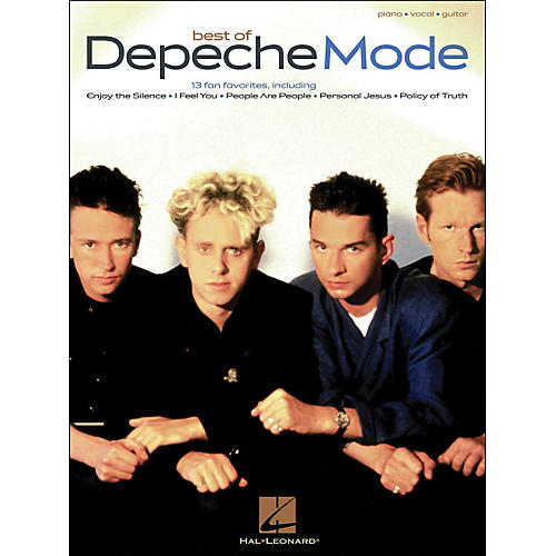Hal Leonard Depeche Mode, Best Of arranged for piano, vocal, and guitar (P/V/G)