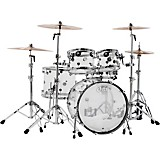 Design Series Acrylic 5-Piece Shell Pack with Chrome Hardware Clear