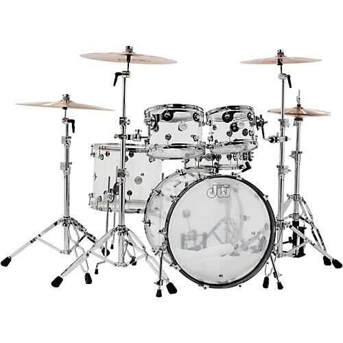 DW Design Series Acrylic 5-Piece Shell Pack with Chrome Hardware-thumbnail